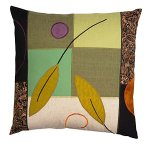 Green Leaves by Susan Hill (Pillow)