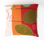 Vibrant Path by Susan Hill (Pillow)