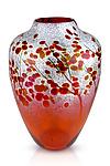 Afton Mountain Fall by Daniel Scogna (Art Glass Vase)