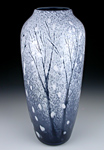 Winter by Daniel Scogna (Art Glass Vase)