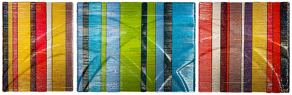 Horizontal Tapestries in Glass