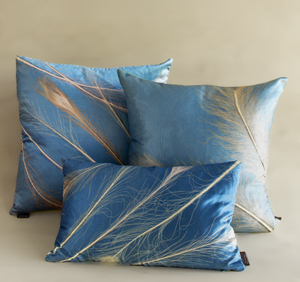 Calypso Collection: Aviva Stanoff: Etched Velvet Pillow - Artful Home :  pillow handmade velvet home accessories