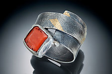 Coral Ring by Nina Mann (Gold, Silver & Stone Ring)