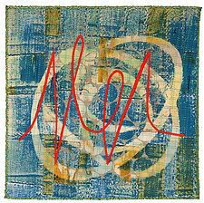 Scribble #2 by Catherine Kleeman (Fiber Wall Hanging)