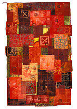 Notes from Chalk Point by Catherine Kleeman (Fiber Wall Hanging)
