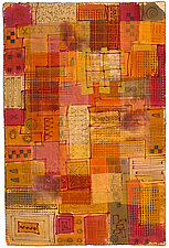 Grid City by Catherine Kleeman (Fiber Wall Hanging)