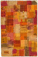 Grid City by Catherine Kleeman (Fiber Wall Hanging)