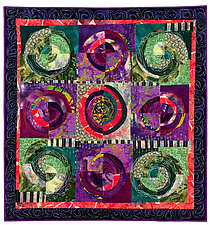 Ornamental Kale by Catherine Kleeman (Fiber Wall Hanging)