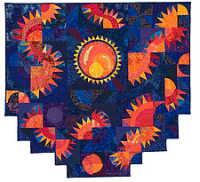 Sunrise by Catherine Kleeman (Fiber Wall Hanging)