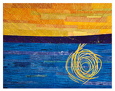 Morning Glory by Catherine Kleeman (Fiber Wall Hanging)