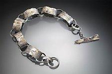 Oval Link Bracelet by Nina Mann (Gold & Silver Bracelet)