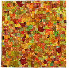 Sugar Maple by Catherine Kleeman (Fiber Wall Hanging)