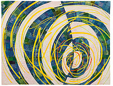 Down the Rabbit Hole by Catherine Kleeman (Fiber Wall Hanging)