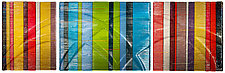 Horizontal Tapestries in Glass by Nina Falk (Art Glass Wall Art)