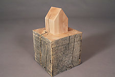 Dwelling Structure by Chris Bowman (Wood Sculpture)