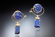 Sora Earrings by Nina Mann (Gold & Stone Earrings)