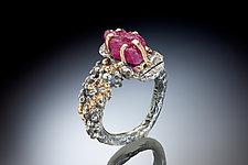 Pasha Ring by Nina Mann (Gold & Stone Ring)
