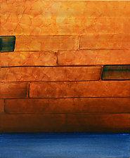 Banishing Barriers by Marlene Sanaye Yamada (Acrylic Painting)