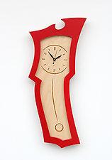 Clock No.3 by Vincent Leman (Wood Clock)
