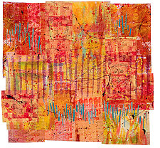 Identity Crisis by Catherine Kleeman (Fiber Wall Hanging)