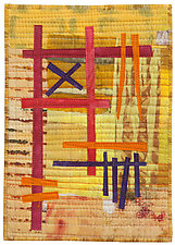 Five by Seven VI by Catherine Kleeman (Fiber Wall Hanging)