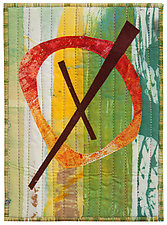 Five by Seven VII by Catherine Kleeman (Fiber Wall Hanging)