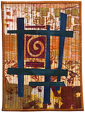 Five by Seven X by Catherine Kleeman (Fiber Wall Hanging)
