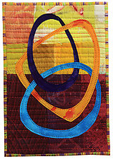 Four by Six V by Catherine Kleeman (Fiber Wall Hanging)