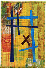 Four by Six VI by Catherine Kleeman (Fiber Wall Hanging)
