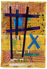 Four by Six VIII by Catherine Kleeman (Fiber Wall Hanging)