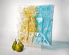Earth Bowl by Nina Falk (Art Glass Bowls)