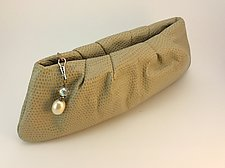 Cara Clutch-Camel by Michelle  LaLonde  (Leather Purse)