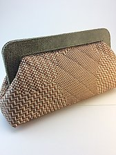 Jackie Handbag by Michelle  LaLonde  (Leather Purse)