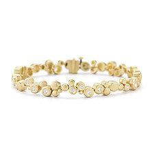 Cono Meridian Bracelet by Dana Melnick (Gold & Stone Bracelet)