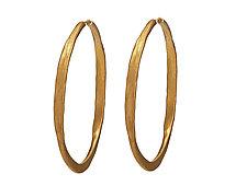 Splash Vermeil Hoops by Ayesha Mayadas (Gold Earrings)