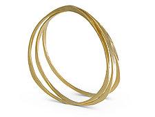 Splash Bangle in Vermeil by Ayesha Mayadas (Gold Bracelet)