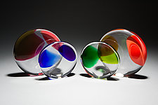Colorfield by Casey Hyland (Art Glass Paperweight)