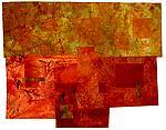Moss Gold by Catherine Kleeman (Fiber Wall Hanging)