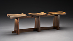 Grafted by Brian Hubel (Wood Bench)