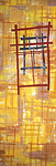 Ventanas: Reflections by Catherine Kleeman (Fiber Wall Hanging)