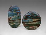 Sky Safari Vessel by Thor Bueno (Art Glass Vase)