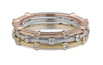 Cono Stack Ring by Dana Melnick (Gold & Stone Ring)