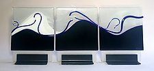 Oceana by Alicia Kelemen (Art Glass Sculpture)