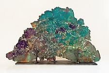 Dreamscape 65 by Mira Woodworth (Art Glass Sculpture)