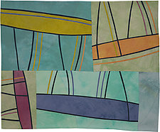 Structures 143 by Lisa Call (Fiber Wall Hanging)