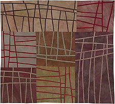 Structures 112 by Lisa Call (Fiber Wall Hanging)