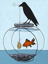 Gone Fishin' by Kamilla White (Giclée Print)