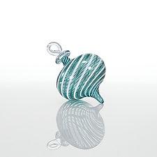 Gulf Stream by Theo Keller (Art Glass Ornament)