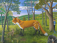 The Observed and the Observer by Jane Troup (Giclee Print)