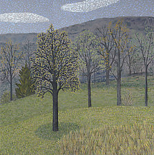 Trees in Grays by Jane Troup (Giclee Print)